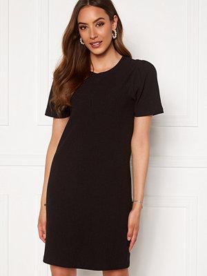 Happy Holly Emilia puff dress Black