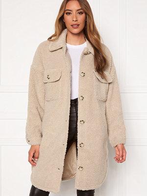 Jacqueline de Yong Stella Teddy Shirt Jacket