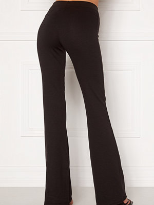 Only omönstrade byxor Fever Stretch Flaired Pants Black
