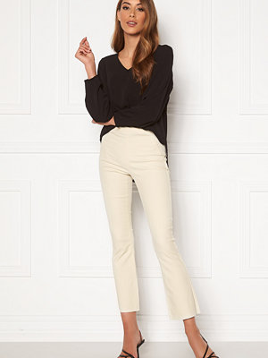 Object Belle Coated New Leggings Gardenia
