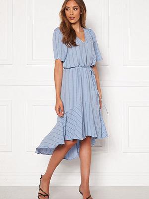 Twist & Tango Alexa Dress Dusty Blue Logo