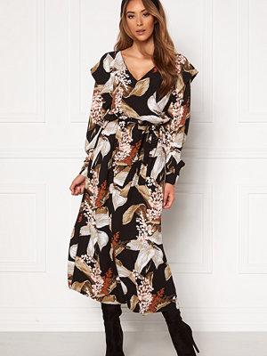 Object Liliti L/S Long Dress
