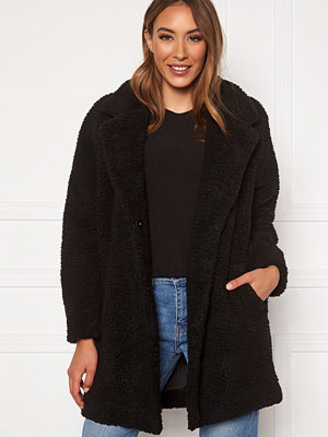 Only Laurelia Sherpa Coat Black