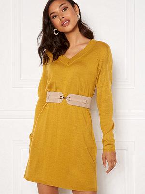 Jacqueline de Yong Zoe L/S Dress Harvest Gold