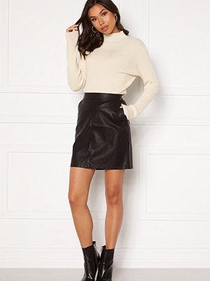 Noisy May Kelly NW PU Skirt Black