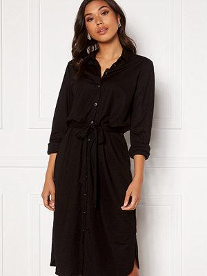 Vila Safina Midi L/S Dress Black