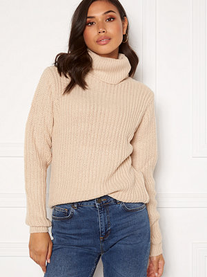 Rut & Circle Tinelle Rollnneck Knit Beige