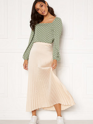 Rut & Circle Bianca Long Skirt Light Beige