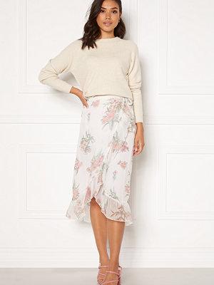 Vero Moda Wonda H/W Wrap Skirt Birch AOP Ophelia Ro
