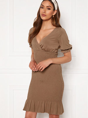 Chiara Forthi Cindy puff sleeve smock dress