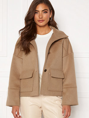 Gant Wool Blend Cropped Jacket