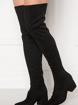 Only Billie Long Heeled Boot Black