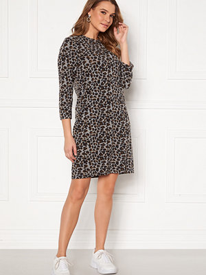 Happy Holly Nora cosy dress Leopard