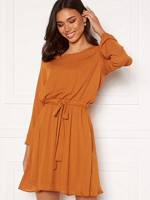 Vila Lucy L/S Dress Pumpkin Spice