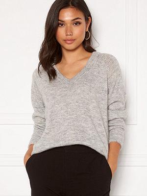 Selected Femme Lulu LS Knit V-Neck