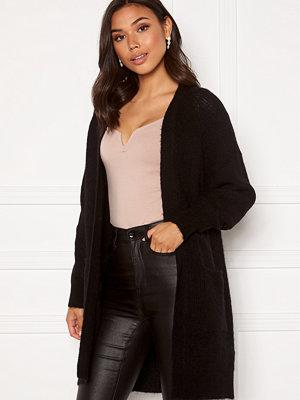 Selected Femme Lulu LS Knit Long Cardigan Black