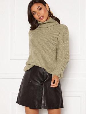 Rut & Circle Tinelle Rollnneck Knit Tea Green
