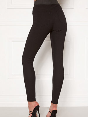 Chiara Forthi Romia ribbed leggings Black