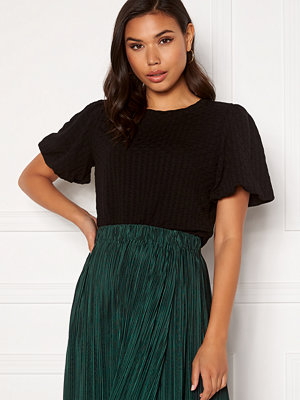 Only Randy S/S Puff Sleeve Top Black
