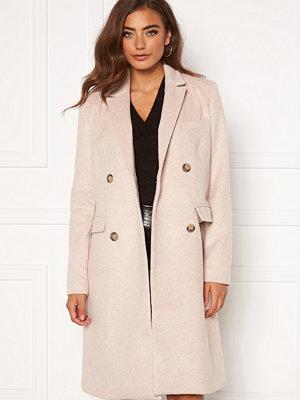 Y.a.s Essa Wool Coat Whisper Pink