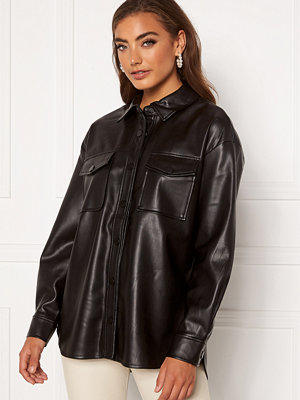 Only Brylee-Dionne Faux Leather Shirt