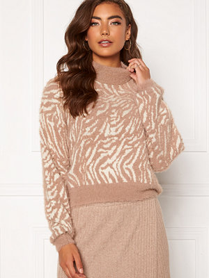 Pieces Sebra LS High Neck Knit