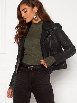 Jacqueline de Yong Simba Faux Leather Jacket