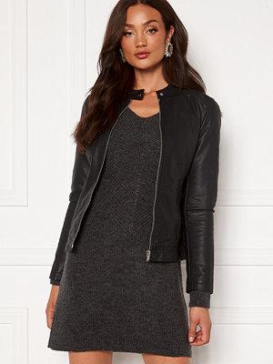 Jacqueline de Yong Stormy Faux Leather Jacket