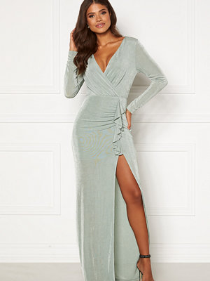 Girl In Mind Liberty Long Sleeve Frill Maxi Dress
