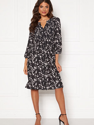 Happy Holly Alessi smock dress Black / Patterned