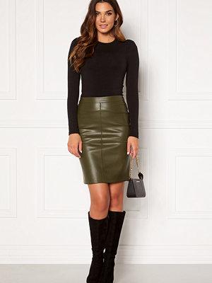 Vila Pen New Coated Skirt