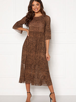Happy Holly Lina mesh dress Leopard