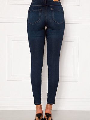 Only Royal Life HW Jeans Dark Blue Denim