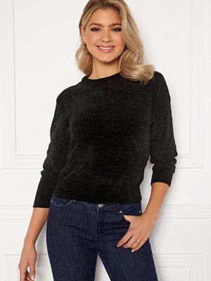 Jacqueline de Yong Chino 7/8 Pullover Knit Black