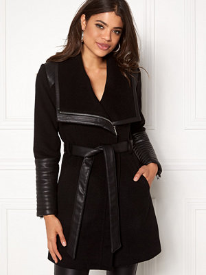 ROCKANDBLUE Funnel Coat 89900 Black
