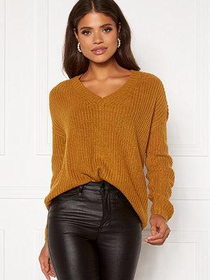 Jacqueline de Yong Limone L/S V-Neck Pullover