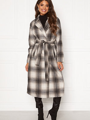Vila Lulus Wool Coat Simply Taupe : Check