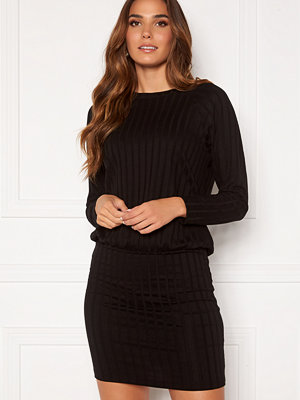 Happy Holly Thea cuff dress Black
