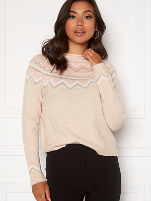Only New Eyla L/S Pullover KNT Pumice Stone