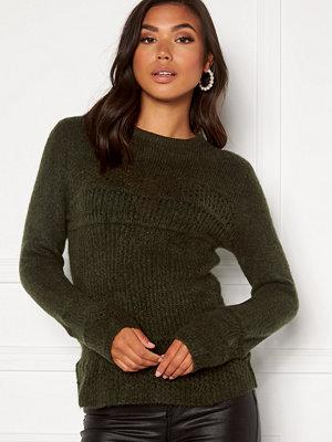 Jacqueline de Yong Nataline Pullover Knit Forest Night