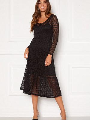 Happy Holly Evelina lace dress Black