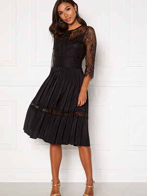 Happy Holly Monica dress Black