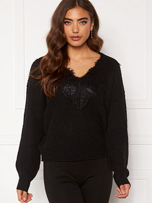 Pieces Rolly LS V-Neck Knit