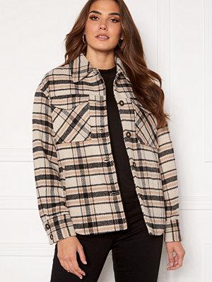 Vila Rubi Check Shirt Jacket