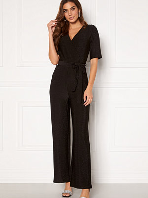 Jumpsuits & playsuits - Pieces Infina 2/4 Jumpsuit Black