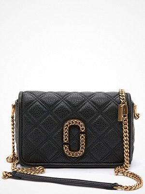 The Marc Jacobs svart mönstrad axelväska Flap Crossbody 001 Black