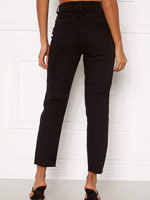 Object Connie Cropped Jeans Black