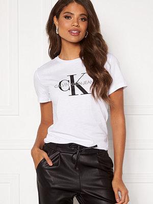 Calvin Klein Jeans Monogram Regular Fit Tee 112 Bright White