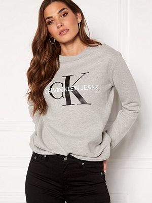 Calvin Klein Jeans Core Monogram Logo Sweatshirt 038 L Grey Heather