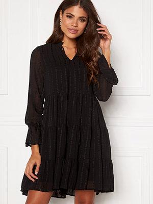 Vero Moda River L/S Short Dress Black